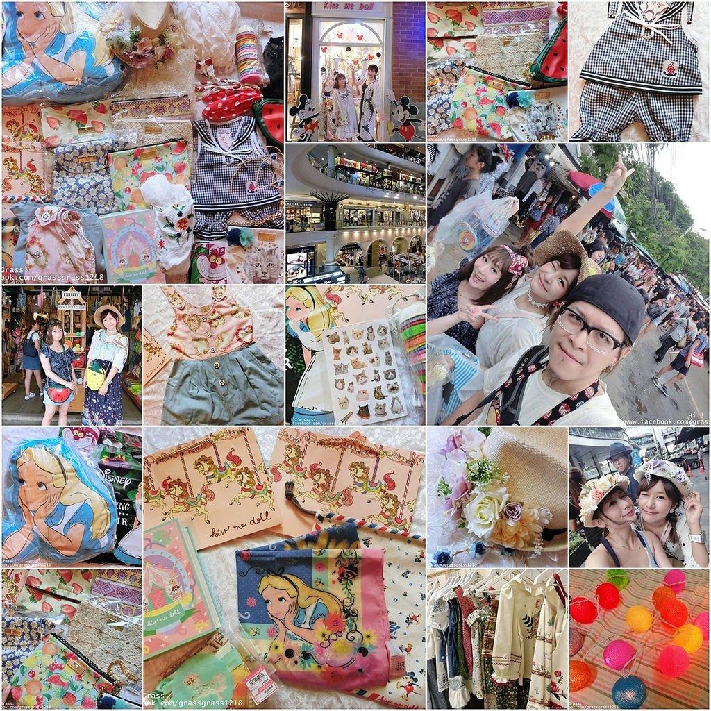 泰國自由行戰利品。恰圖恰週末市集便宜好物特搜,絲巾飾品BKK包買到手軟